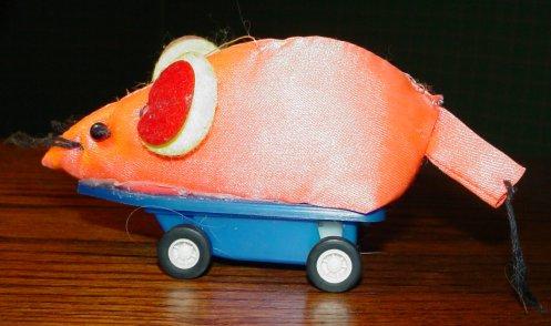 THE original orange mouse. Where it all began.